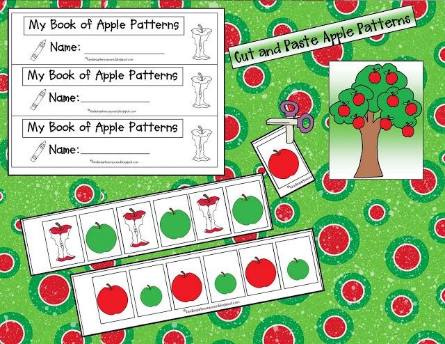 Kindergarten Crayons: freebie for repeating patterns