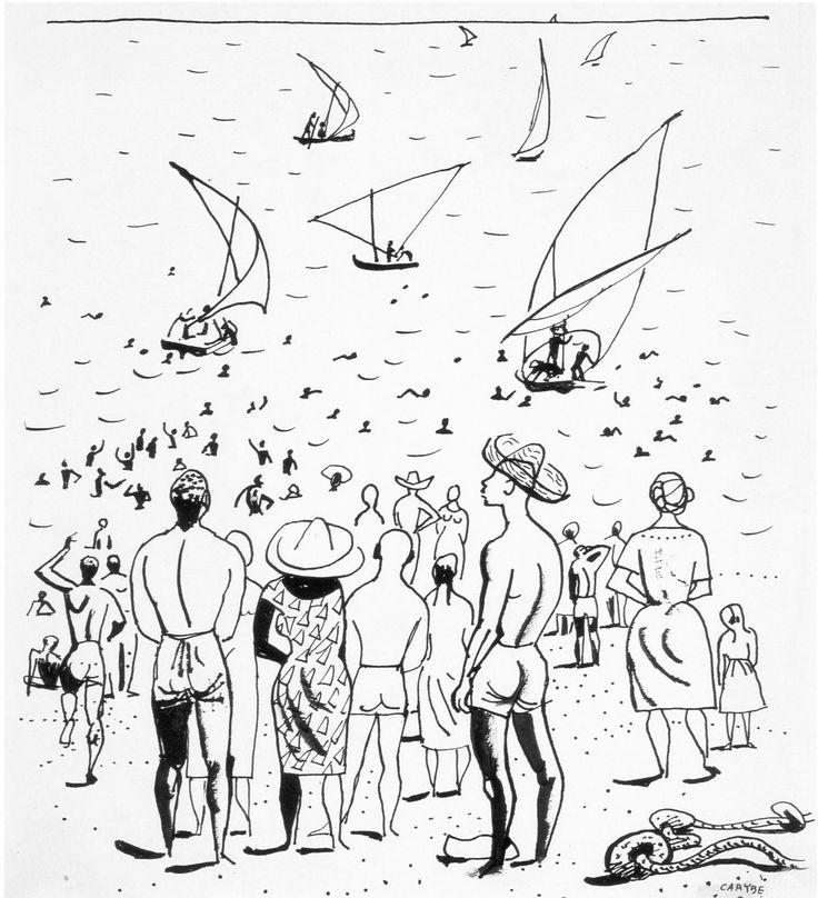A exposição de desenhos de autoria de Carybé (1911- 1997) datados de 1950 sobre as festas de Yemanjá e do Bonfim revela parte do precioso acervo do mais antigo museu do estado, o MAB, localizado no...