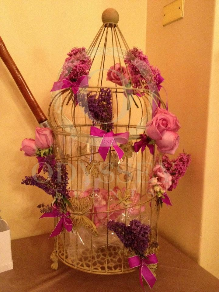 how to make birdcage wishing well