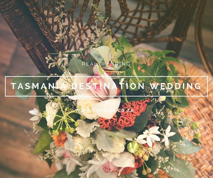 Tasmania destination wedding