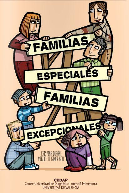 """Cómic """"Familias especiales, familias excepcionales"""""""