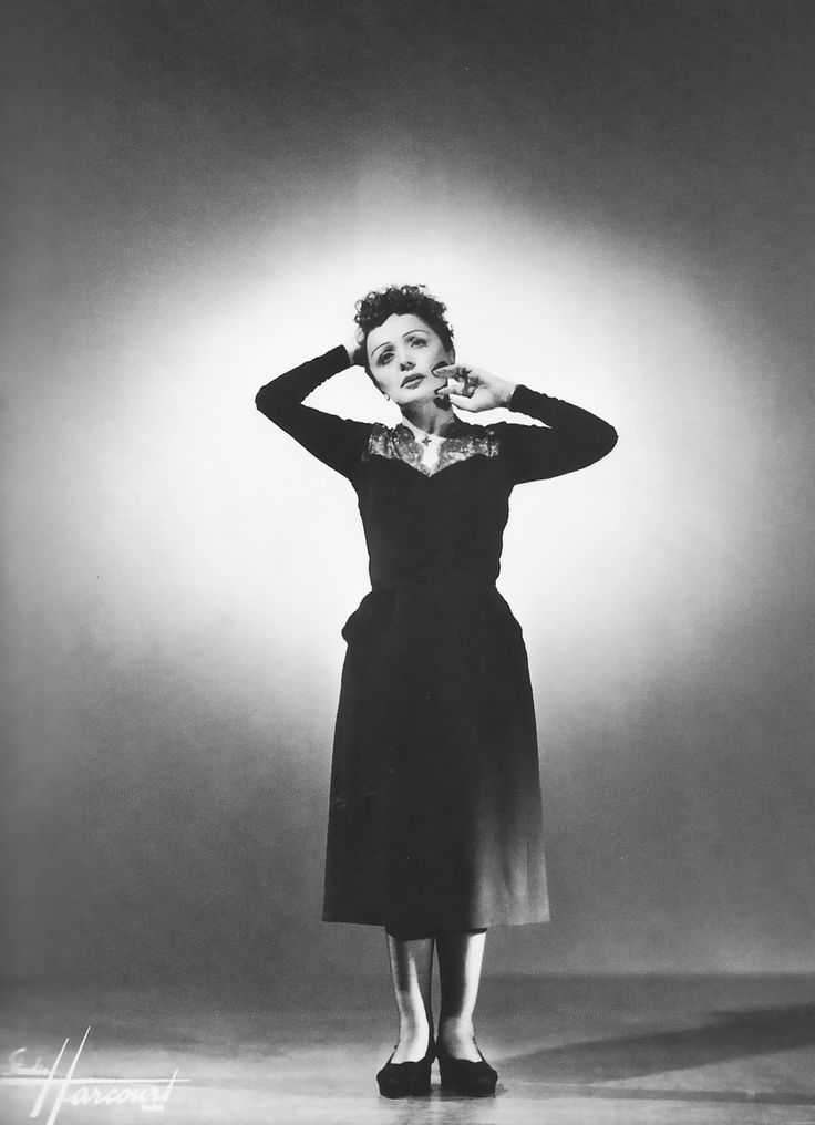 Edith Piaf's astonishing performances.