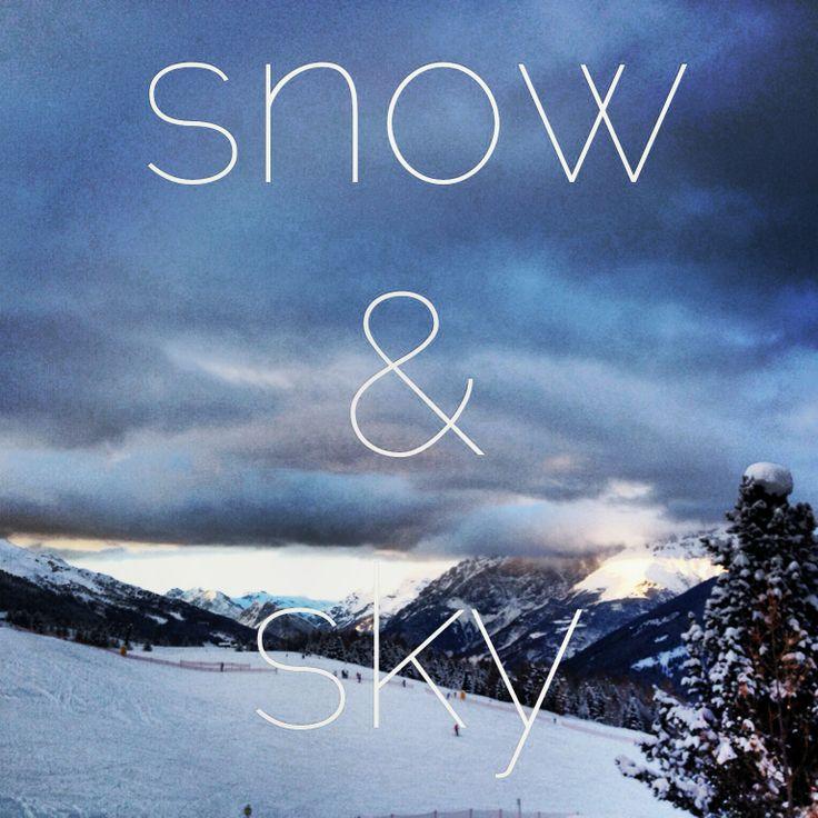 snow & sky