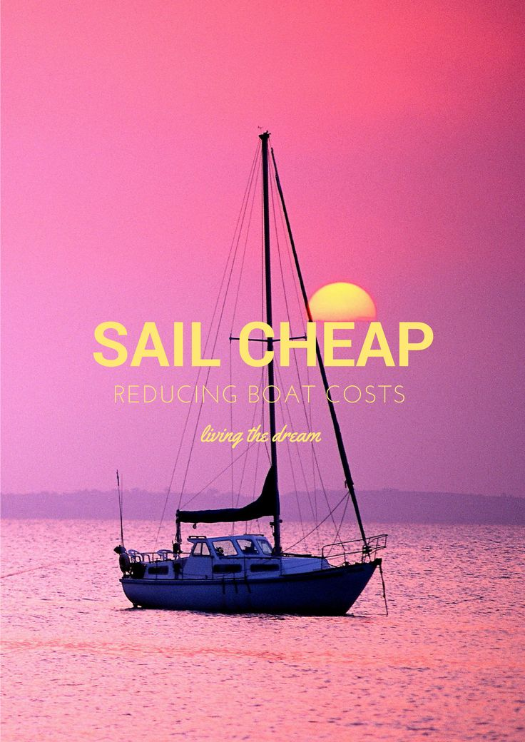 SAIL CHEAP - Our charter company Let's Go Sail offers a special Boat Buyer Cruise for those inclined toward acquisition. The three-hour cruise is a challenge because the prospective buyer is often a fellow whose wife isn't all that crazy about the idea. In fact, some women are hell bent against it. For both of them, I suggest getmyboat.com as alternatives to ownership. Rent for the day and walk away.