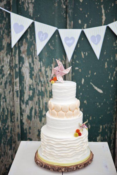 Spring Wedding Cakes We Adore, Wedding Cakes Photos by Blossom Events