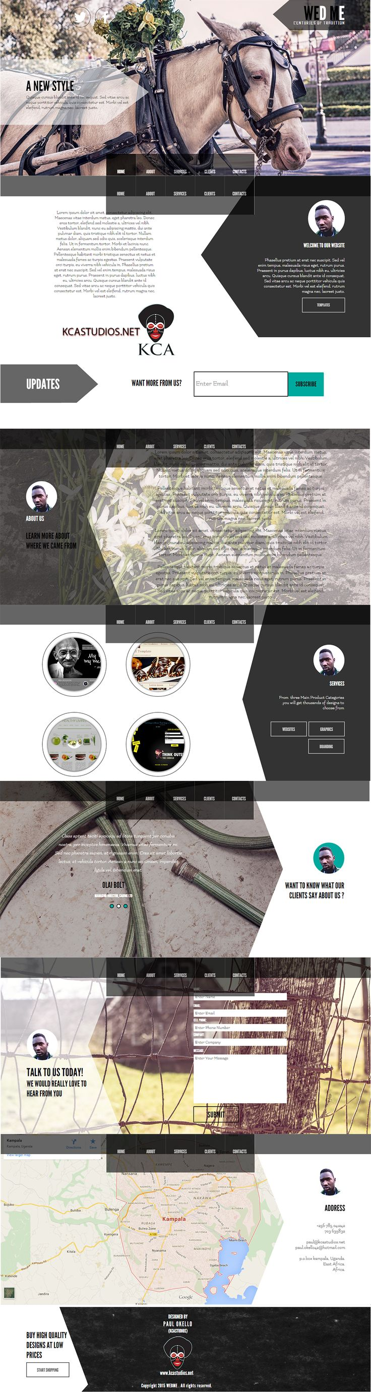 26 best ($3 - $8) - Stunning, amazing & Cool Website Templates For ...