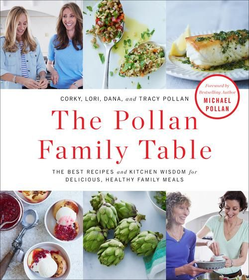 I bought my copy at Costco.  Dana, Tracy, and Lori Pollan—three sisters to famous brother Michael Pollan —and their mother, Corky, have published a cookbook all about family suppers.