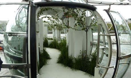 Creative Gardening Andy Sturgeon's garden installation on the London Eye