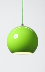 Great color and style reminds me of a green apple: Retro Styles, Apples Lamps, Style Reminder, Apples Green, Favorite Colors, Black Maybe, Green Apples, Apple Lamps, Green Lamps