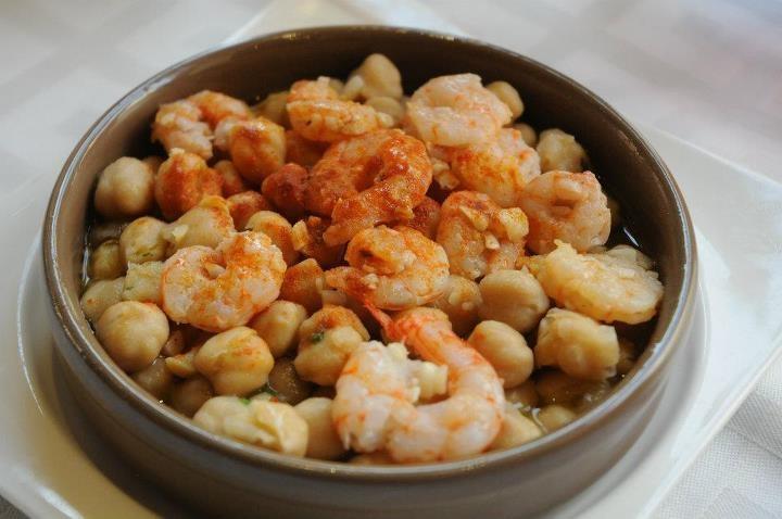 Gambas al ajillo de Restaurante El Toboso de Modesto Restaurantes Sevilla