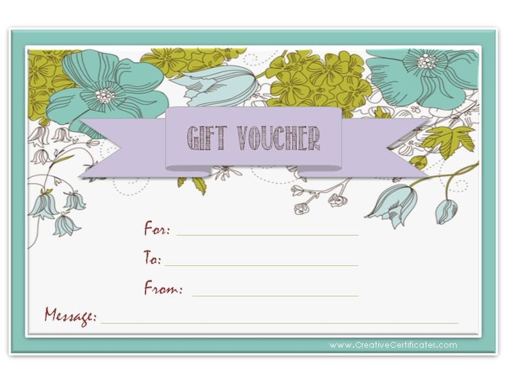 8 best gift certificate templates images on Pinterest Gift cards - best of donation certificate template