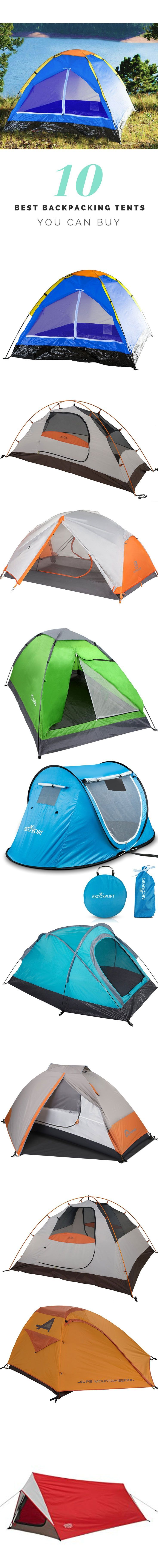 Best Backpacking Tents  Get the 10 bestsellers, expensive and cheap Best Backpacking Tents what you can buy Online.  Expensive, Cheap and Best Seller Backpacking Tents If you think to buy Backpacking Tents than this article can be a guide for you.  This list was generated from the top 100 performers and was narrowed down to the best 10 items.   http://www.buzzthisviral.com/best-backpacking-tents/  #backpacking #tent #tents backpacks #camping #hiking #outdoor #amazon #shopping #buy…