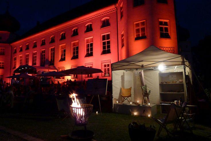 Romantische Nacht - Kampier auf den Gartentagen auf Schloss Tüssling 2014