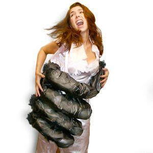 King Kong Hand and Dress CostumeCostumes Kelsey, Hands Costumes, Halloween Costumes, Costumes Parties, King Kong, Costumes Party'S That, Dresses Costumes Writh, Kong Hands, Costumes Stupid Com