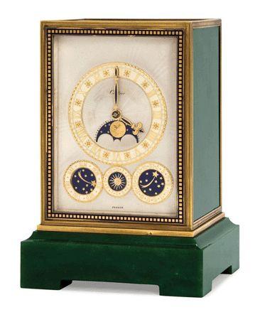 Art Deco eight-day quarter chiming clock, Cartier, circa 1935