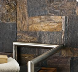 Leather, Wood & Concrete - Petrified Wood - Ann Sacks Tile & Stone