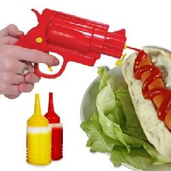Reloading Tomato Sauce Gun