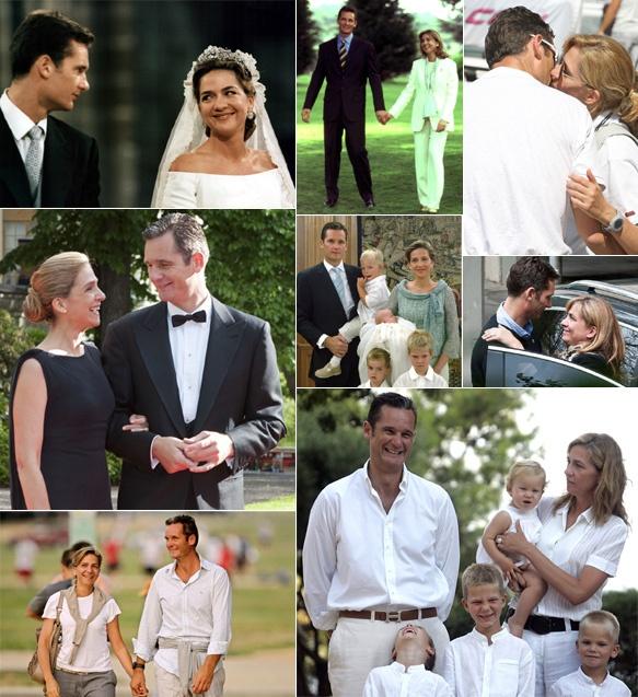Los duques de Palma celebran quince años de casados