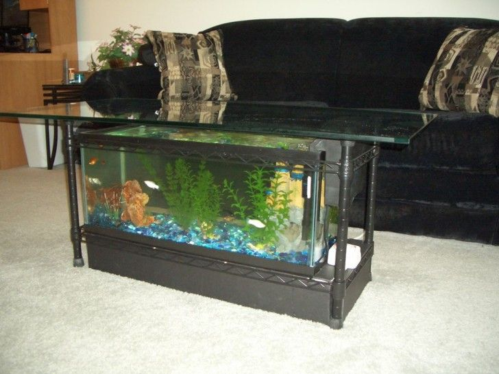 Diy 125 Gallon Aquarium Stand 55 Gallon Fish Tank Stand Plans Diy 10 Gallon Fish Tank Stand Fish Ta Aquarium Coffee Table Diy Aquarium Decorating Coffee Tables