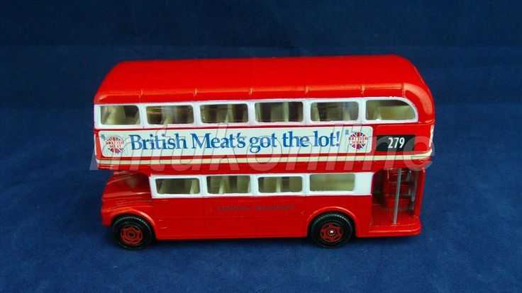 CORGI DOUBLE DECKER BUS | MADE IN GB | BRITISH MEAT S GOT THE LOT! | LONDON
