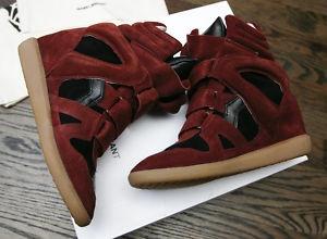 Bordeaux Isabel Isabel Marant Marant Sneakers Sneakers U88q7Sx