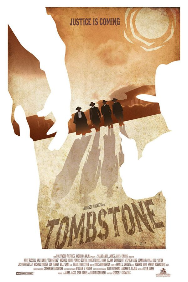 Tombstone Movie Poster by Zenithuk -Watch Free Latest Movies Online on Moive365.to