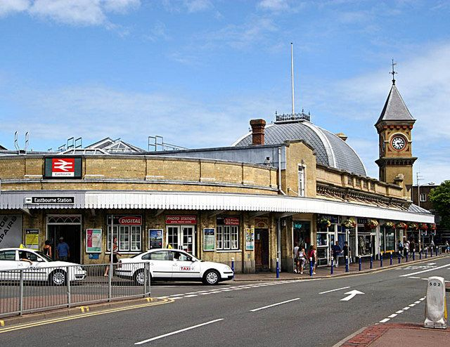 Eastbourne Railway Station (EBN) in Eastbourne, East Sussex