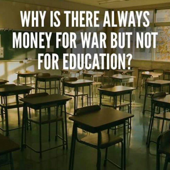.... more education and less religious bollocks = no need for war