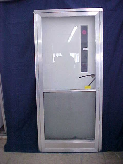 Mobile Home Doors Lowes House Type Door Two Doors In One Pre Hung Unit Door And