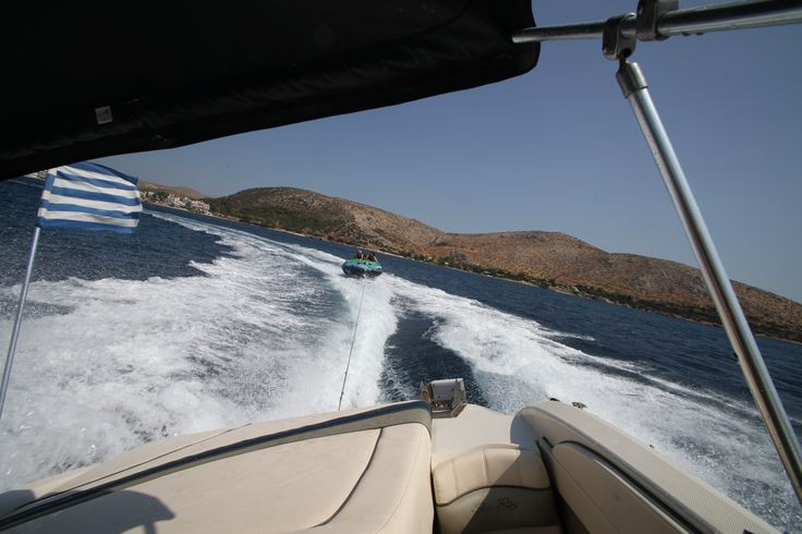 a day dedicated to summer at Kouros Beach (Anavissos) ! we had an amazing time !!!!  TUBING !