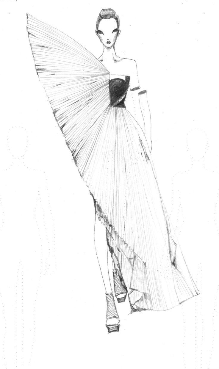 Vikki Yau Fashion Illustration - Fashionary Sketches