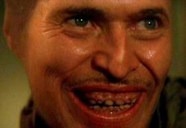 Willem Dafoe as Bobby Peru in Wild at Heart, 1990