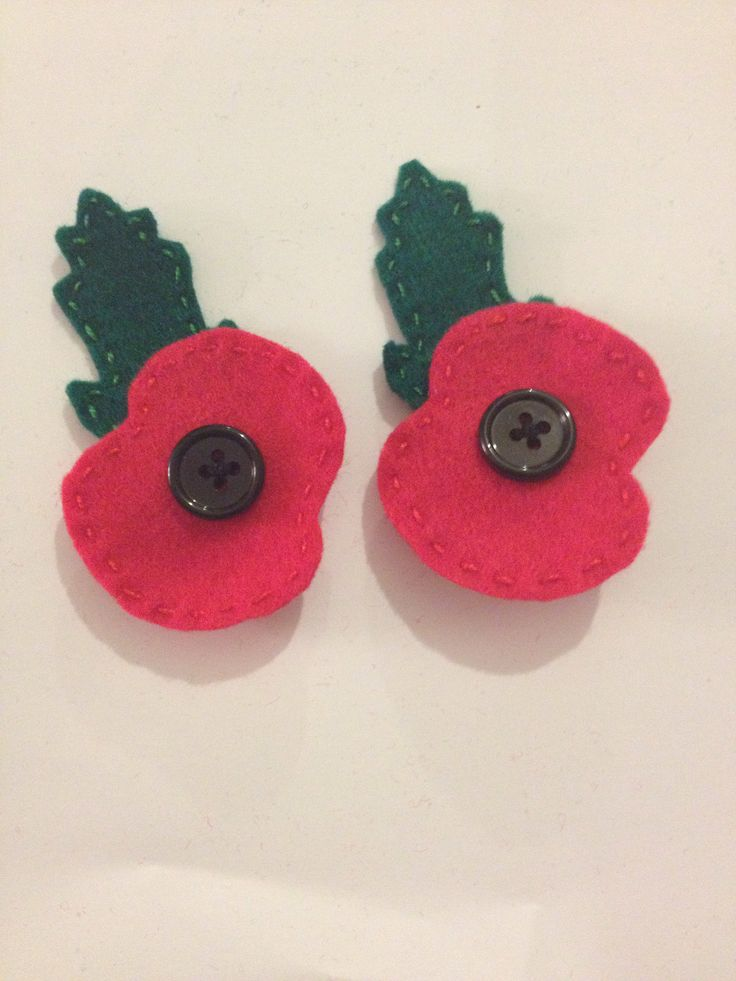 Poppies ready for remembrance day 11th November!
