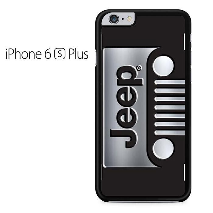 Jeep Grill Silver Iphone 6 Plus Iphone 6S Plus Case