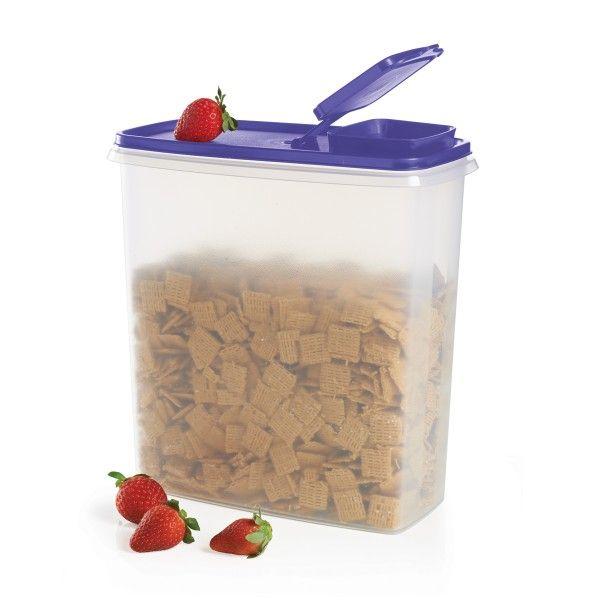 Superrecipiente para Cereal:          ¡Con capacidad para 20 tazas/4.8 L de tu desayuno favorito! MulberryPuede lavarse en el lavaplatos automáticoGarantía limitada de por vidaLos colores pueden variar y puede haber substituciones.    Artículo:10049021653