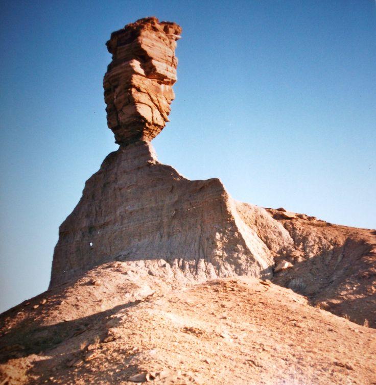 #Travel: #Namibia, Mukurob (Finger of God) near Asab, Namibia.  It collapsed in 1988. Photo credit: D Rudman