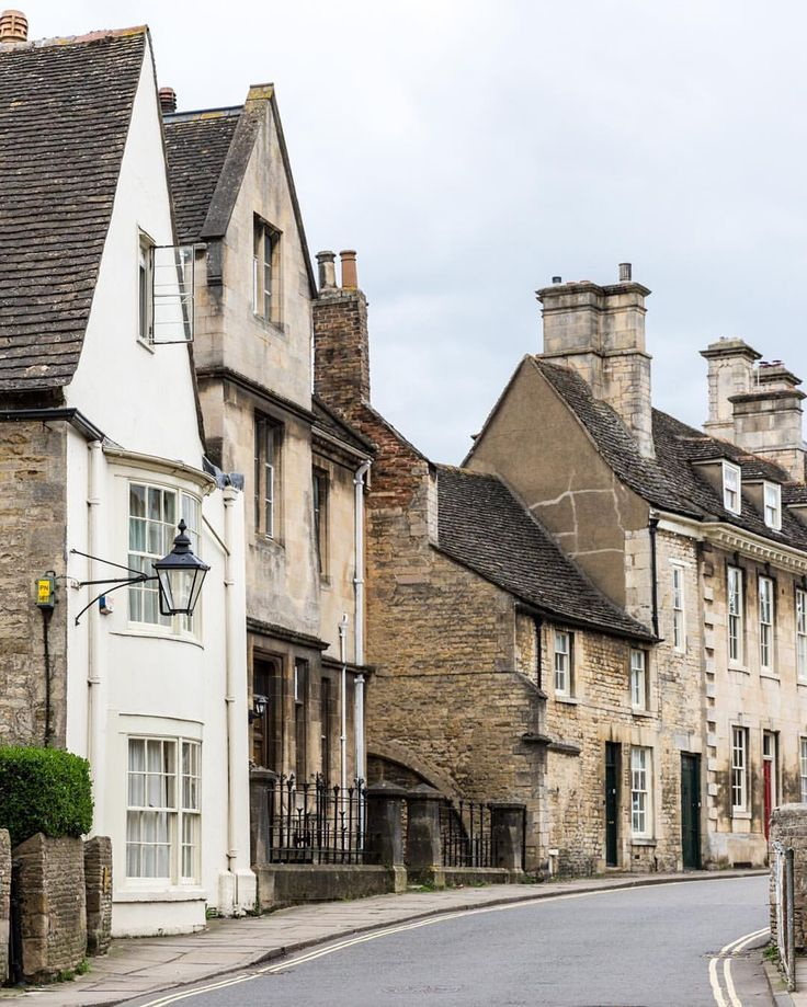 Lovely houses in Stamford, Lincolnshire, England