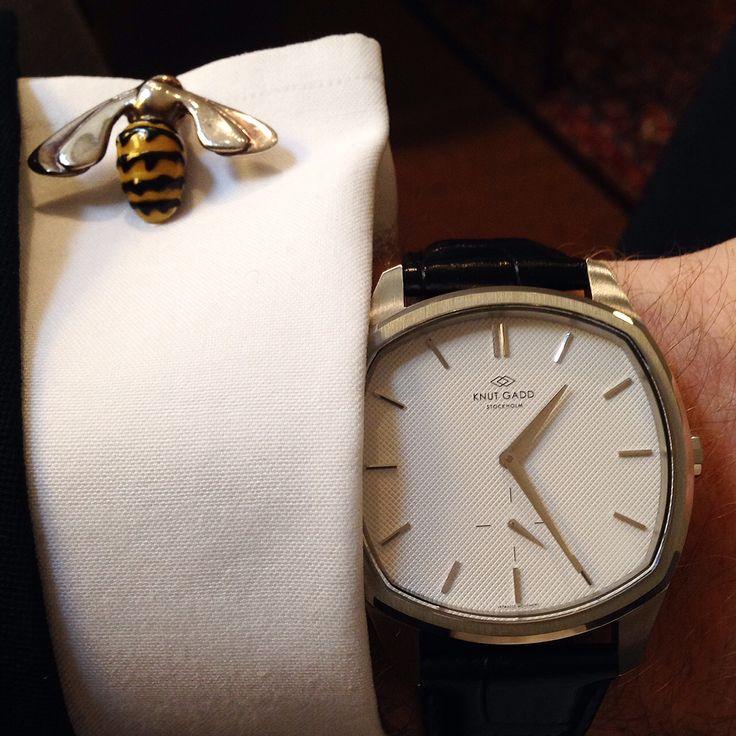 Knut Gadd, svenskt klockmärke som presenteras på fackmässan Precious (Stockholm…