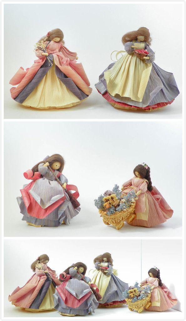 Corn Husk Dolls by Nan's
