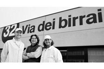 The Brewery 32 Via dei Birrai.  Where the beer becomes art!