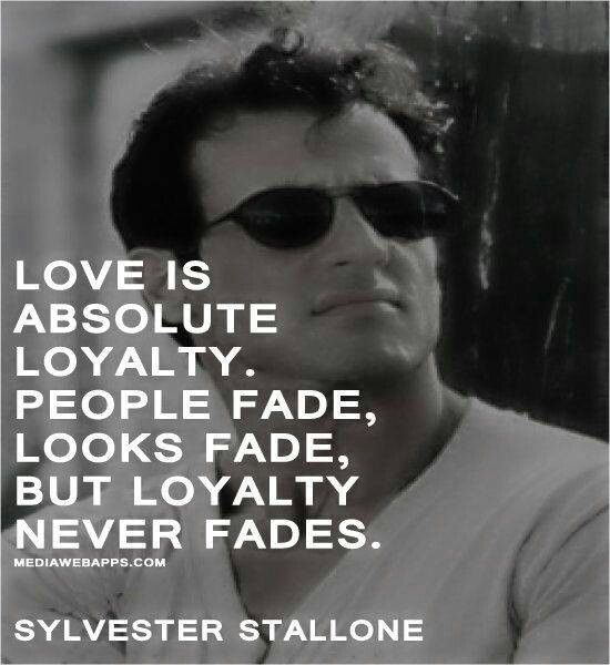 "Want to make $1000 in 30 days ? Fill out the form ""Love is absolute loyalty. People fade, looks fade, but loyalty never fades."" —Sylvester Stallone"