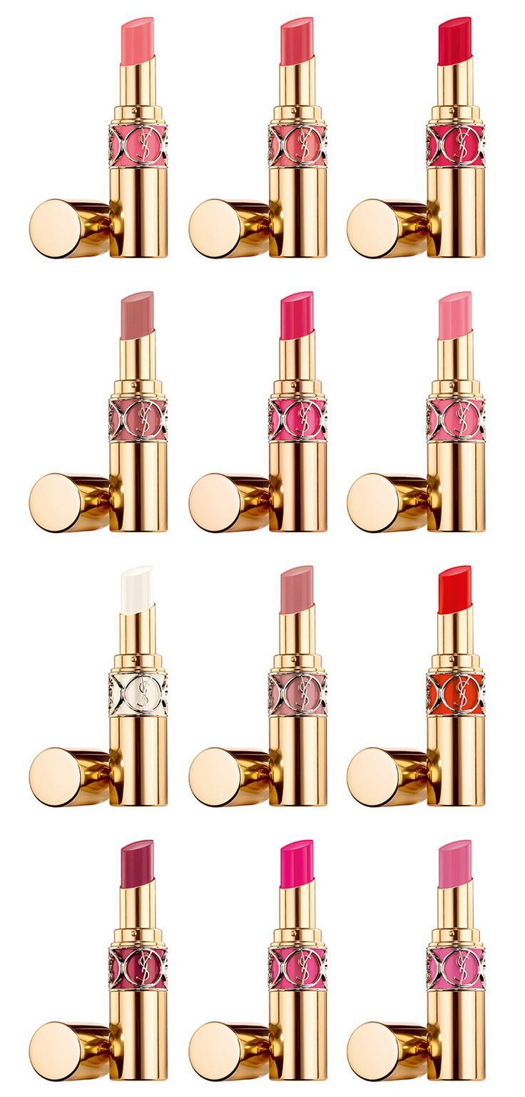 YSL Rouge Volupté briller huile-dans-Stick à lèvres