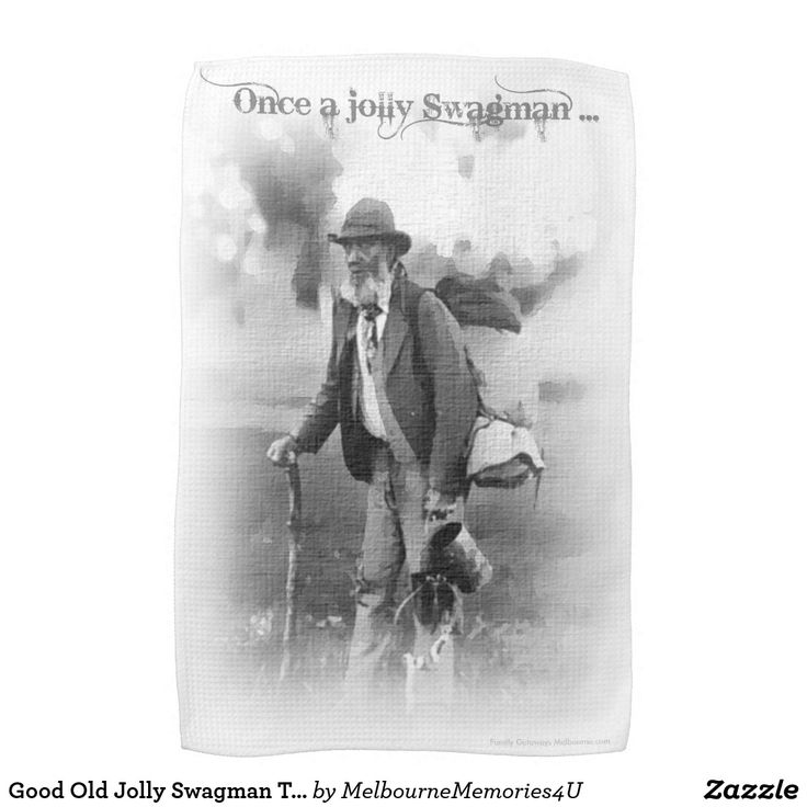 Good Old Jolly Swagman Tea Towel would make for an excellent souvenir or gift for someone overseas. Click the image for more information.