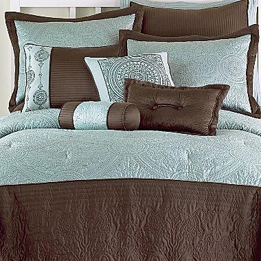 Celina 10pc Bedding Comforter Set