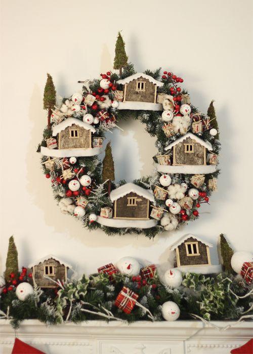 <b>Новогоднее украшение интерьера</b> Снежная Деревня Були-Були ...