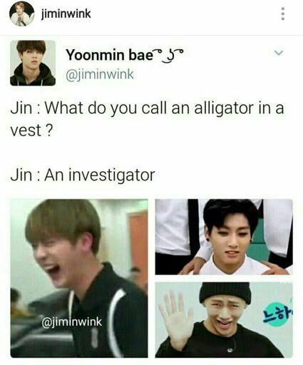 Jin Dad Jokes