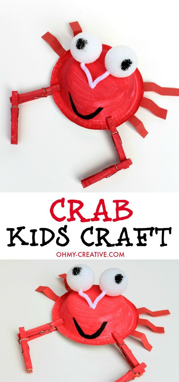 the 25 best paper plate crab ideas on pinterest crab craft