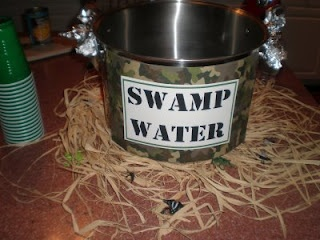 Swamp water recipe for Army party.