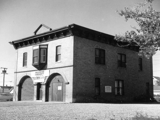 Fire Hall Number 3/Inglewood Community Association, ca 1960s