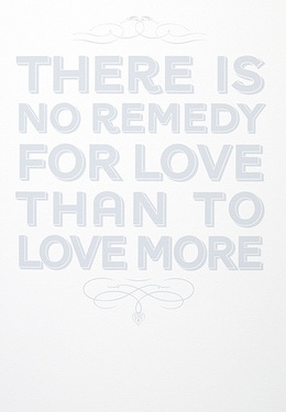 Quote about love Henry David Thoreau